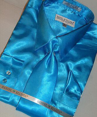 YUNY Men Square Collor Casual Long Sleeve Plaid Classic Cardi Work Shirt AS6 L