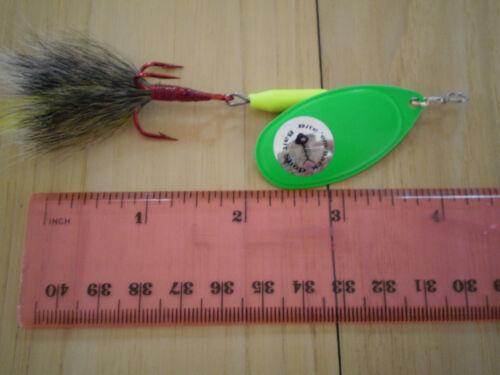 "Mepps Custom made Bucktail /""Mepps 5/"" Original French Spinner #5-1//2 oz"