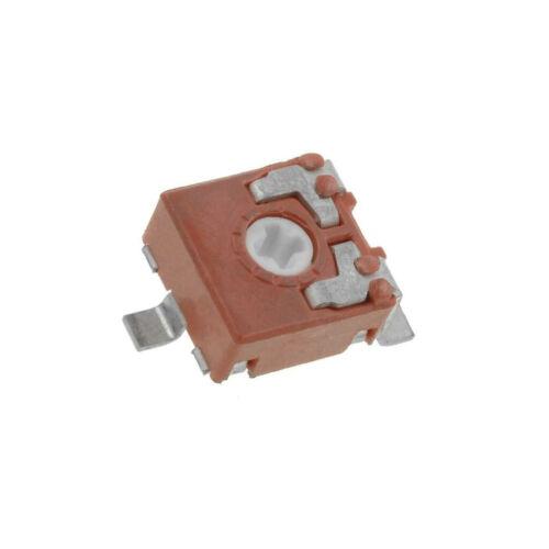 10x CA6VSMD-10K Potentiometer für den Einbau 1-Drehung 10kΩ 100mW SMD ±20/%