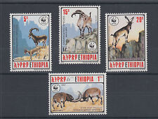 Ethiopia Sc 1303-1306 MNH. 1990 WWF cplt. Endangered Animals