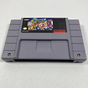 Super Bomberman 2 (Super Nintendo Entertainment System, 1994) Cartridge tested!