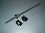 HGR15-250mm Linear Guideway 2 Rail RM1605-250mm ballscrew+BK//BF12 end bearing