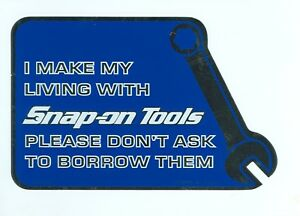 NEW-Vintage-Snap-on-Tools-Snap-on-Tool-Box-Sticker-Decal-Man-Cave-Latest-SM325E