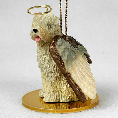 Soft Coated Wheaten Dog Figurine Angel Statue