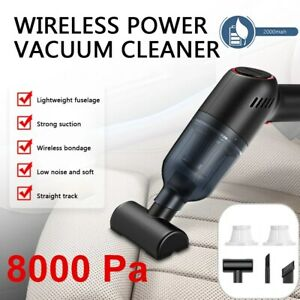 Portable Powerful Cleaner Wet Dry Handheld Strong Suction Office Home Car Vacuum