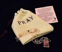 St. Jude Pendant Necklace Patron Saint Hopeless Despaired Faith Jewelry Pray 9r