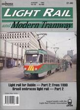 LIGHT RAIL AND MODERN TRAMWAY MAGAZINE - August 1993 - Vol. 56 - No. 668