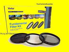 Filter Kit 62mm ND8 UV CPL FKND-62 > NIKON 105mm f/2.8G 70-300mm Neutral Density