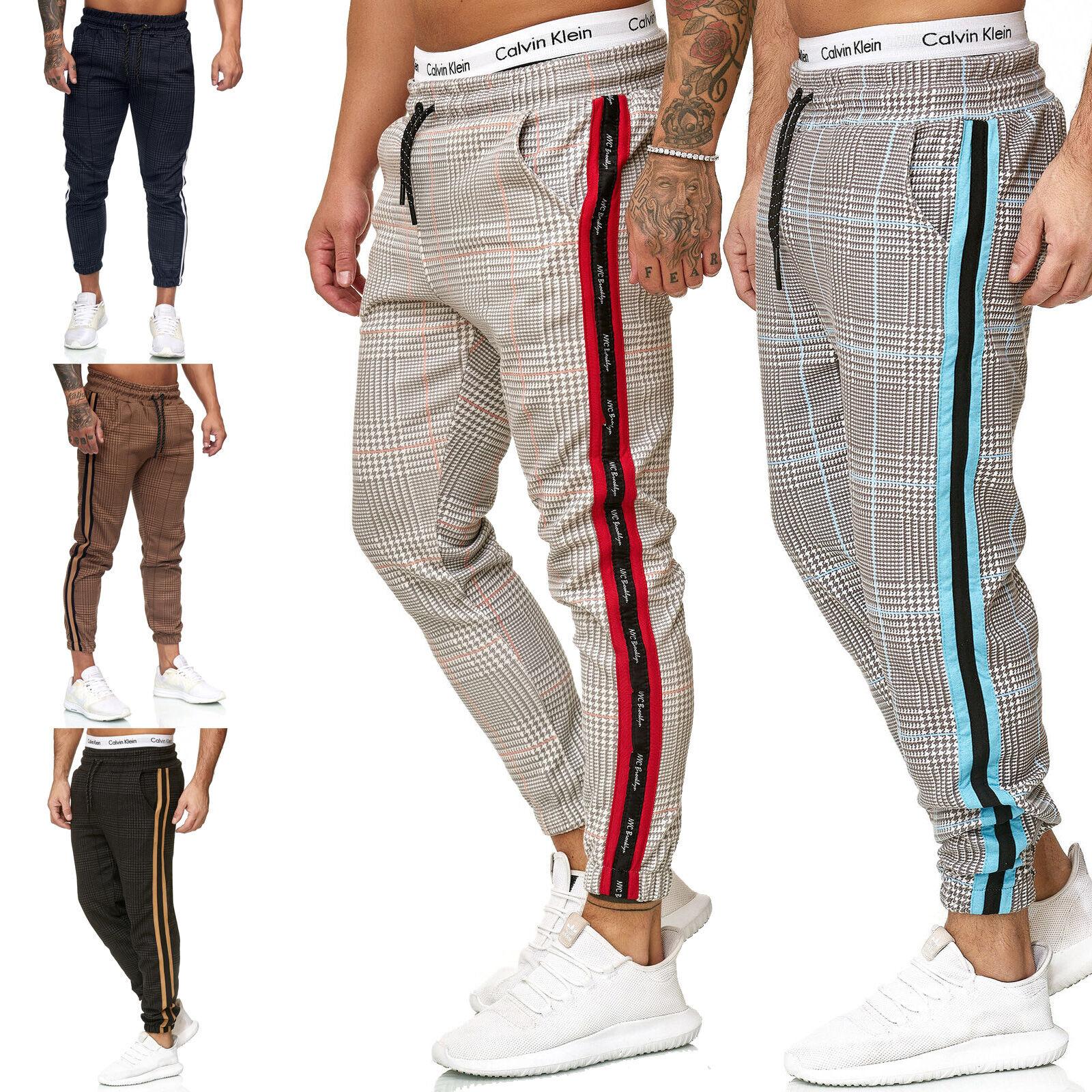 Jogging Sports Trousers Fitness Pants Tracksuit Bottoms Gym Training Men's