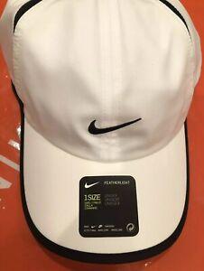 cheaper best authentic great deals Détails sur Nike Aerobill Légère Drifit Blanc Unisexe Tennis / de Course  Casquette