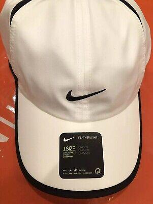 Leeds Natura cristal  Nike Aerobill Featherlight Dri-Fit White Unisex Tennis/Running Cap  CI2662-100   eBay
