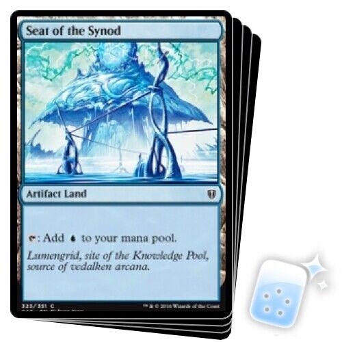 SEAT OF THE SYNOD X4 Commander 2016 Magic MTG MINT CARD