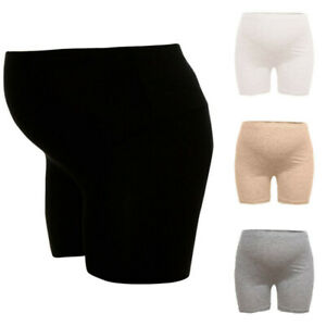 Women-Maternity-Solid-Shapewear-Safety-Pants-Seamless-Abdomen-Support-Underpants
