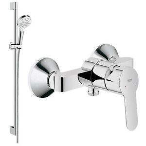 hans grohe komplett duschset brause armatur dusche bad. Black Bedroom Furniture Sets. Home Design Ideas