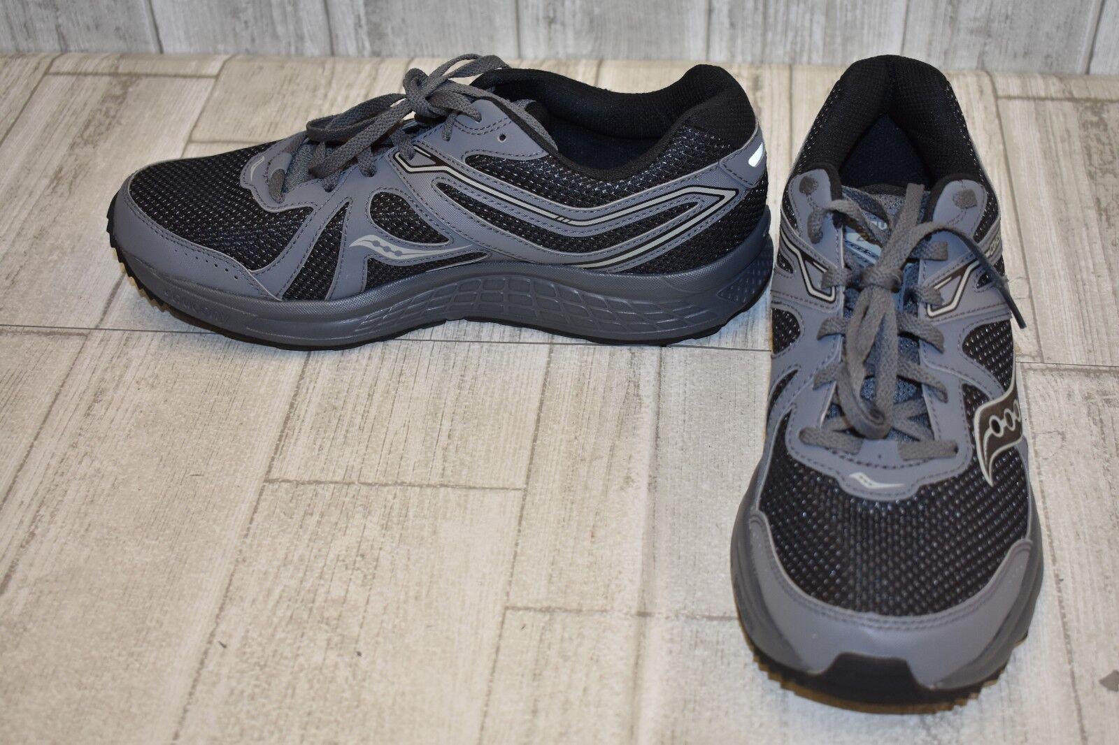 Saucony Grid cohesión 11 Calzado para Correr-Para Hombres Carbón Negro