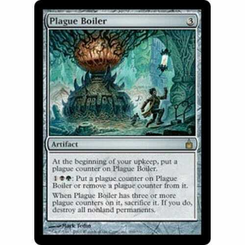 Plague Boiler MTG RAVNICA CITY OF GUILDS foil