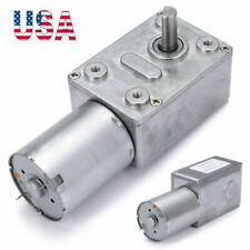 Dc 12v 6rpm Torque Turbo Worm Electric Geared Motor Jgy370 Low Speed Reversible