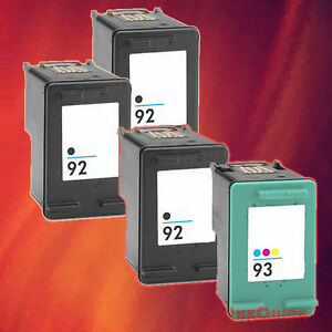 4-HP-92-93-INK-FOR-HP-92-BLACK-HP-93-TRI-COLOR-COMBO