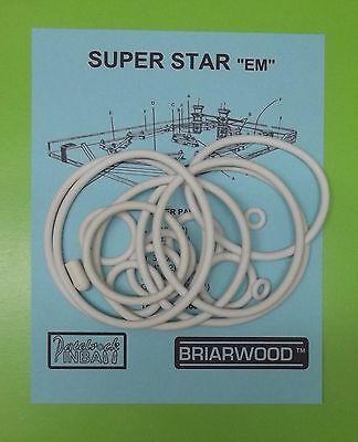 Includes Rubber Ring Kit! 1977 Briarwood Skate King Pinball MachineTune-up Kit
