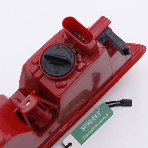 Right Side Car Lower Reflector Rear Tail Bumper Light Lamp Red For Audi Q3 2015