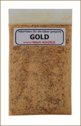 FlitterFlakes GOLD Glimmerflocken