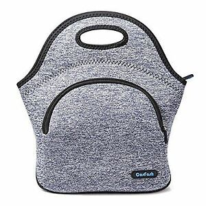 8558f498a2a0 Neoprene Lunch Bag Insulated Tote Bags Boxes Adults Men Women Kids Boys  Nurses