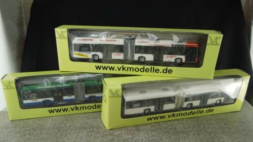 SES Modelle VK Bus Solaris 08701111 08701116 08701113 1:87 BS133 BS135