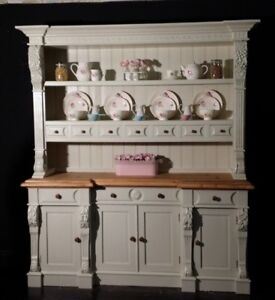 Keen Pine Farmhouse Kitchen Dresser