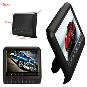 9-Inch-HD-Digital-LCD-Screen-Car-Headrest-Monitor-DVD-USB-Player-Black-Color-New