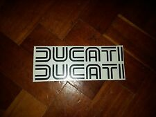 Ducati 70s style decals stickers x2 tank fairing 900ss 750ss Pantah