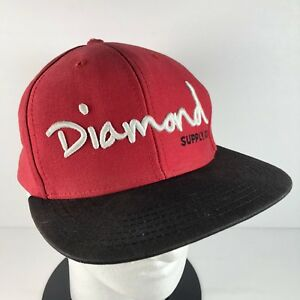 online retailer ada4d 2546a best price image is loading diamond supply co men s snapback baseball hat  65fac 9545f