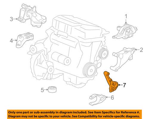 Chevrolet GM OEM 16-18 Cruze-Transmission Mount Bracket 39079595