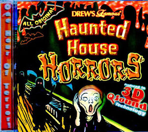 drew s famous haunted house horrors 3d virtual halloween sound