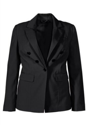 Blazer M.I.M Gr.40,42,44 Neu Damen Jacke Schwarz Feslich Business Sakko Stretch