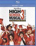 High School Musical 3: Senior Year (Blu-ray/DVD, 2010, 2-Disc Set) NEW