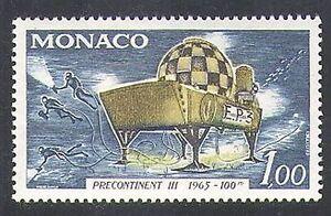 Monaco-1966-Submarine-Research-Vessel-Divers-Diving-Transport-1v-n37948