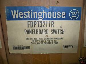 WESTINGHOUSE-FDPT3211R-30A-TWIN-FUSED-PANELBOARD-SWITCH