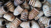 Antique Old Dug Relics Civil War Era Crimean War Minnie Lead Bullets