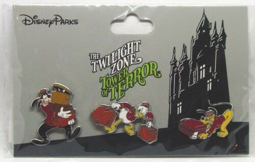 Disney Trading Pins *Twilight Zone TOWER OF TERROR Sealed Carded Set of 3