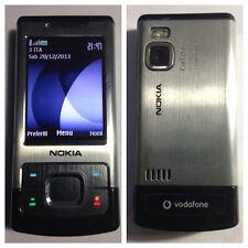 CELLULARE NOKIA 6500 SLIDE GSM 3G  FOTOCAMERA UNLOCKED SIM FREE DEBLOQUE
