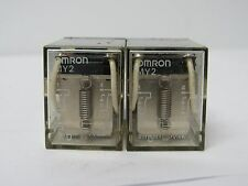 OMRON MY2 24VDC RELAY-LOT OF 2