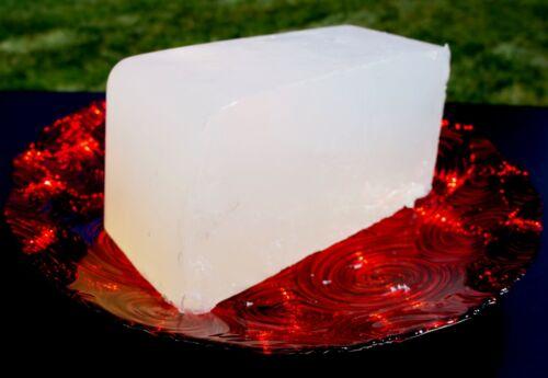 ULTRA CLEAR TRANSPARENT ORGANIC GLYCERIN MELT /& POUR SOAP BASE 100/% PURE 10 LB