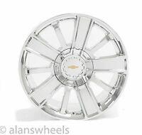 "4 Chevy Silverado Avalanche Chrome 20"" Wheels Rims Free Shipping 5653"