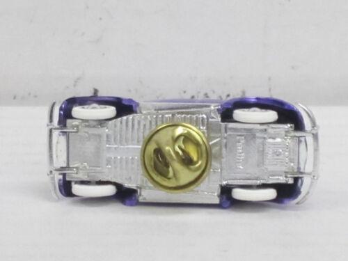 Bijou Escarabajo en lila metallic como prendedor//pin con embalaje original 1:87 pral