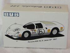 BUB 1:87 Metallmodell - Porsche 906 zur 45th Shizuoka Hobby Show - Neu
