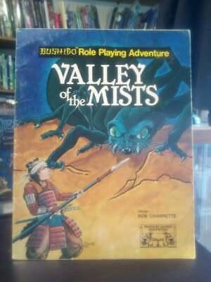 Fgu Fantasy Games Unlimited Bushido Rpg Valley Of The Mists Very Rare I Consumatori Prima