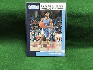 COBY-WHITE-2019-Contenders-Draft-Picks-Game-Day-Ticket-RC-8-North-Carolina