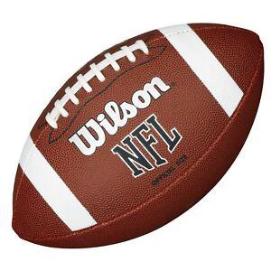 wilson official size nfl ball american football ebay
