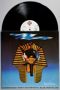 ZZ-Top-Sleeping-Bag-1985-Vinyl-12-034-Single-UK-Import-Afterburner