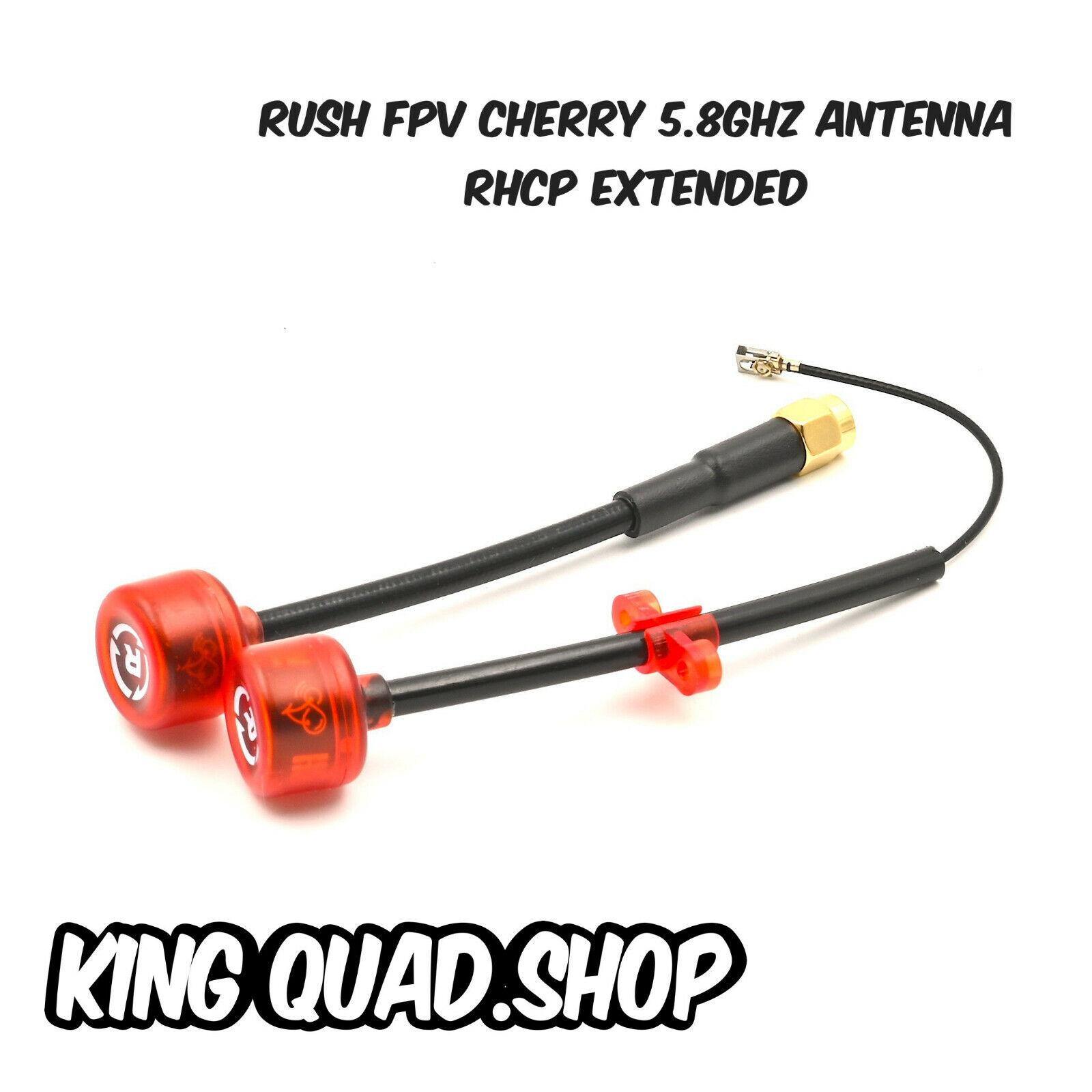 Rush FPV Cherry 5.8ghz Antenna RHCP Extended Designed By TrueRC